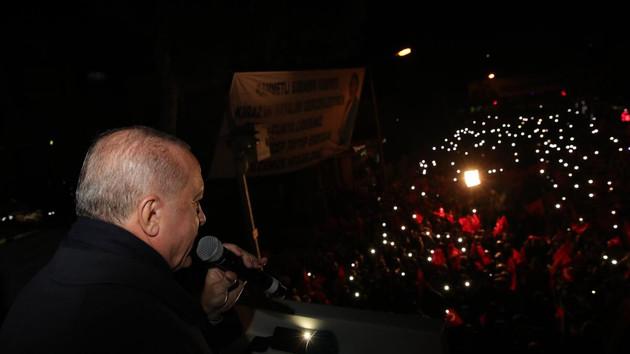 Erdoğan: İzmir'in başına gelen en büyük felaket CHP'dir