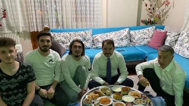 Berat Albayrak'tan Abdülkadir Ömür'e ziyaret
