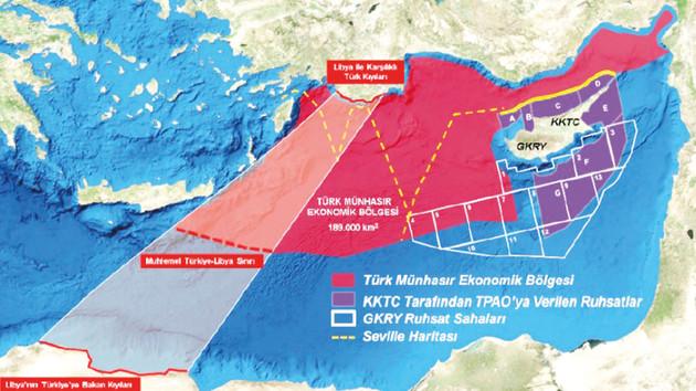 Türkiye'nin Akdeniz'de iki yeni komşusu var: Libya ve İsrail