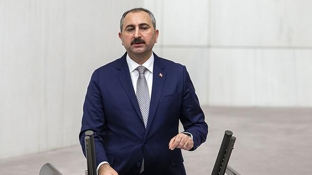 Adalet Bakanı Gül'den FETÖ borsası açıklaması
