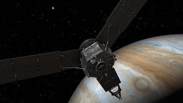 NASA Jüpiter'de oldukça büyük bir kasırga keşfetti