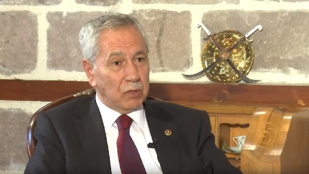 Bülent Arınç'tan Gelecek Partisi açıklaması: AK Parti'ye rakip olmasını uygun görmüyorum