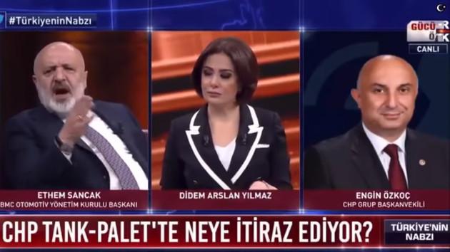 Ethem Sancak ve CHP'li Engin Özkoç canlı yayında karşı karşıya geliyor