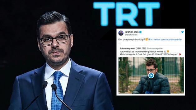Kim onayladı bu diziyi? TRT Genel Müdürü İbrahim Eren ile Tutunamayanlar ekibinin atışması olay oldu