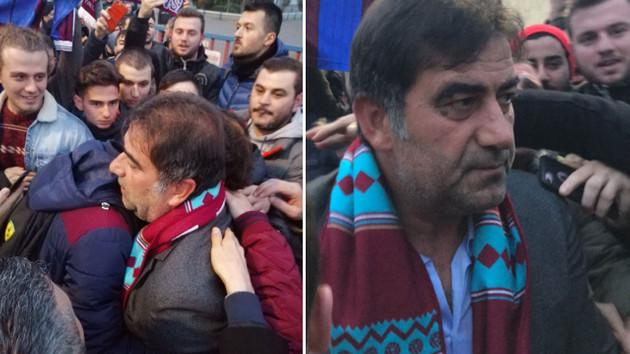 Ünal Karaman Trabzon'dan böyle ayrıldı