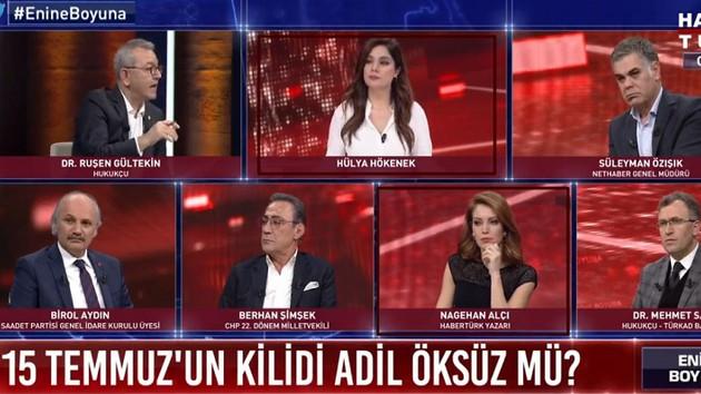 Habertürk TV, katil devlet diyen Nagehan Alçı'yı böyle ödüllendirdi