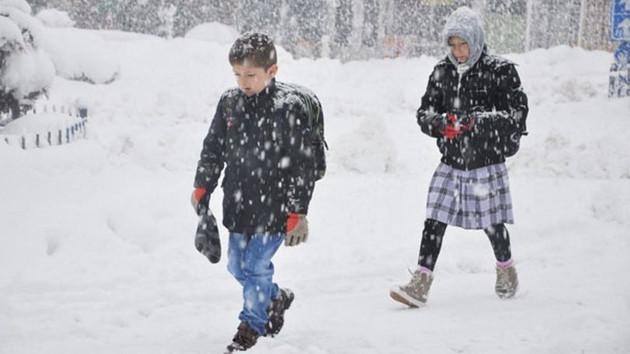 Son dakika: İstanbul'da eğitime kar engeli