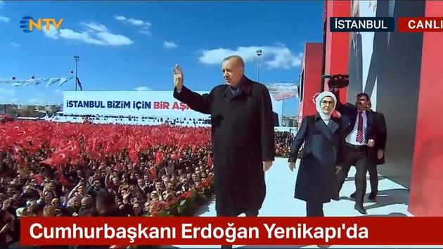 Erdoğan ve Bahçeli Yenikapı mitinginde: İstanbul düşerse, Türkiye düşer