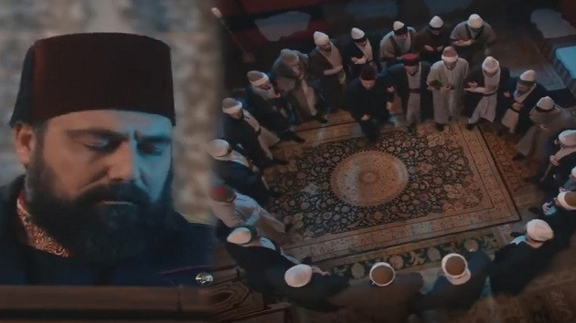 Payitaht Abdülhamid'e damga vuran zikir sahnesi!