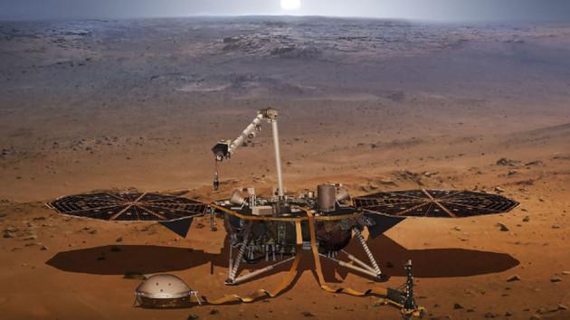 NASA Mars'ta ilk depremi kaydetti