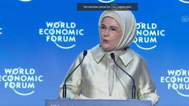 Emine Erdoğan: Ortadoğu gençleri, aklı hür, vicdanı hür bir gençlik olmalı