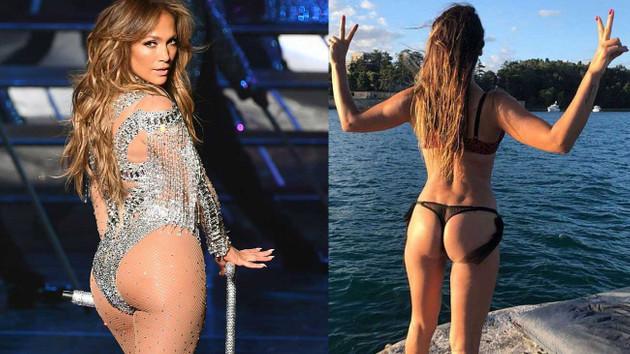 Hatice'den Jennifer Lopez'in poposu için olay yorum: Beni taklit ediyor