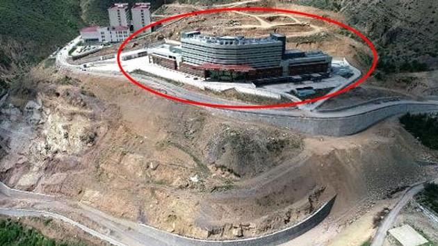 Gümüşhane Devlet Hastanesi skandalı: 51 milyon lira harcandı, 4 yıldır hizmete açılamıyor