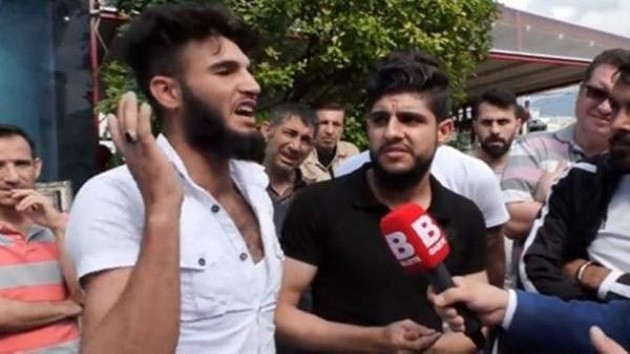 Kafa kesmek istiyorum diyen Suriyeli mülteci gözaltına alındı