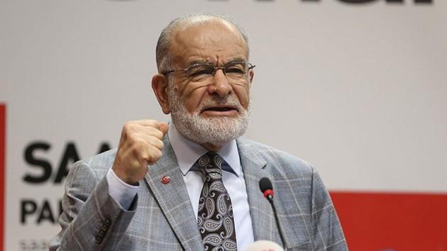Karamollaoğlu Ömer Çelik'i tiye aldı: Öcalan'ı TRT'ye benim amcaoğlum çıkarmıştır