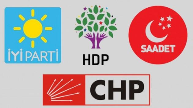 23 Haziran seçiminden sonra 4 parti yeniden masada