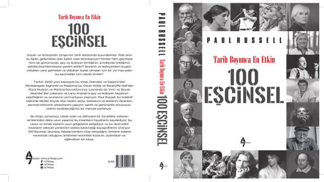 Turkuvaz Dergi Grubu'ndan Tarih Boyunca En Etkin 100 Eşcinsel adlı kitaba sansür