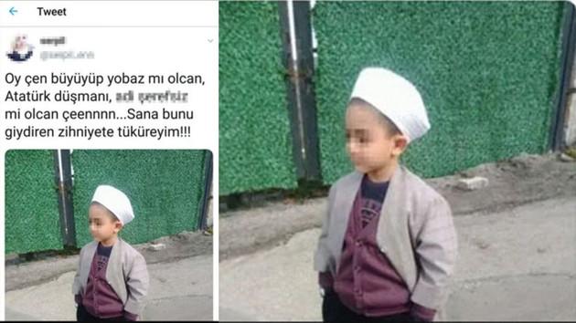 6 yaşındaki çocuğun fotoğrafına hakaret eden kadına suç duyurusu