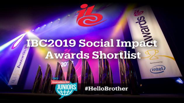 TRT'nin Gençler için Gazetecilik ve #hellobrother kampanyaları iki dalda ödüle aday gösterildi