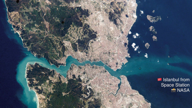Uluslararası Uzay İstasyonu bugün İstanbul'dan çıplak gözle görülebilecek!