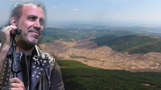 Haluk Levent Çanakkale'deki ağaç katliamına tepki gösterdi