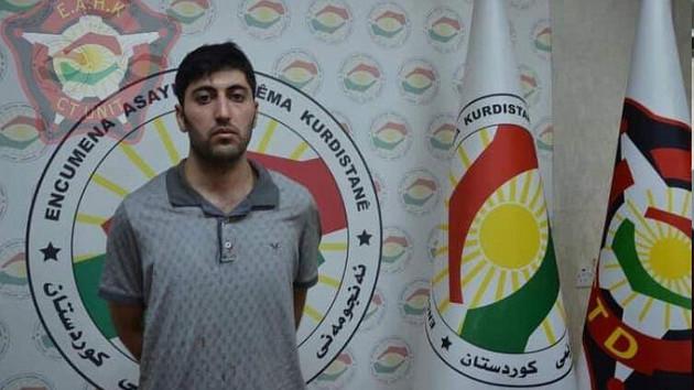 Erbil saldırganı terörist Mazlum Dağ yakalandı