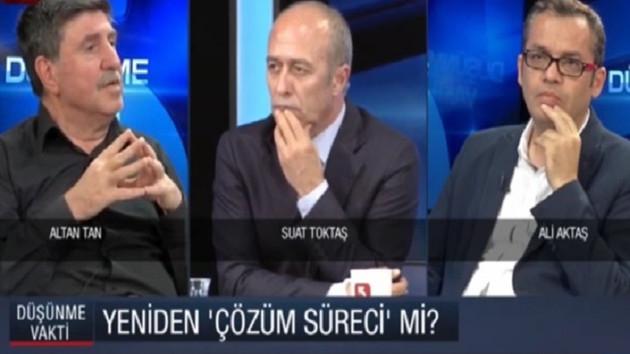 Altan Tan'dan Öcalan iddiası: PKK'ya silah bırakma çağrısı gelebilir