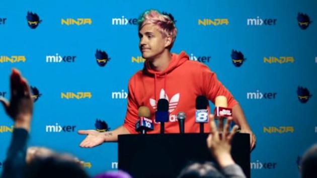 Twitch porno yayın için Ninja'dan özür diledi