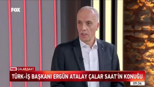 Mikrofonu açık kalan Türk-İş Başkanı'ndan o sözlere açıklama
