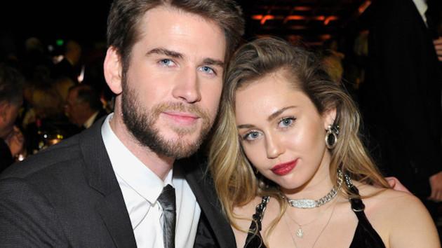 Liam Hemsworth Miley Cyrus'a boşanma davası açtı