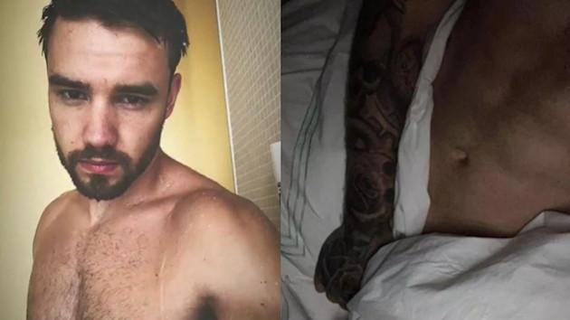 Liam Payne Instagram'a çıplak fotoğrafını koyduğunu fark etti, hemen sildi