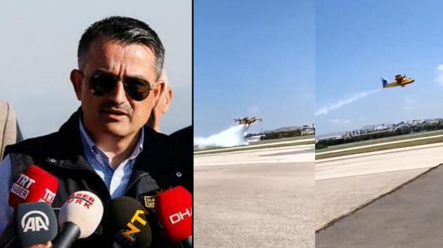 Uçmuyor denilen uçaklar böyle görüntülendi