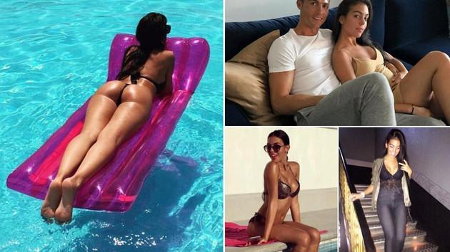 Ronaldo'nun sevgilisi Georgina Rodriguez: Yatarken iç çamaşırımı..
