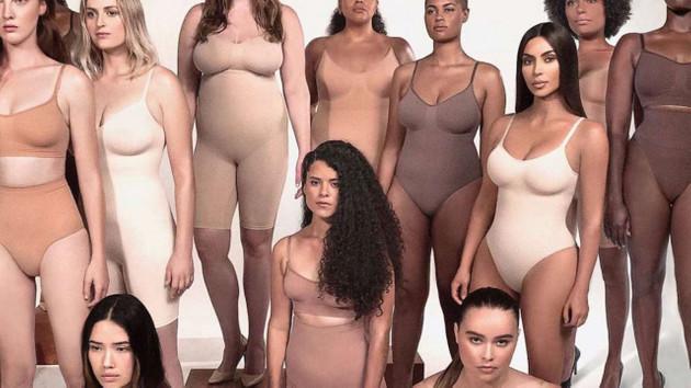 Kim Kardashian yeni korse markasını tanıttı