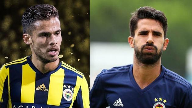 Fenerbahçe taraftarı Diego Reyes ve Alper Potuk'u ıslıkla protesto etti