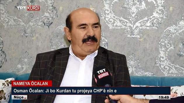 TRT'deki Osman Öcalan yayınına ifade özgürlüğü kararı