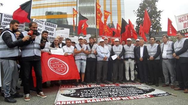 Cargill işçisi 526 gündür direniyor