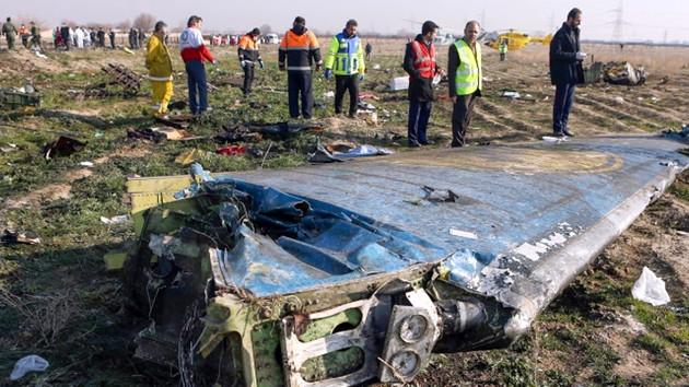 Ukrayna uçağı İran füzesiyle mi vuruldu? Şok görüntüler