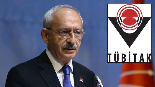TÜBİTAK Kemal Kılıçdaroğlu'nun Kanal İstanbul iddialarına yanıt verdi