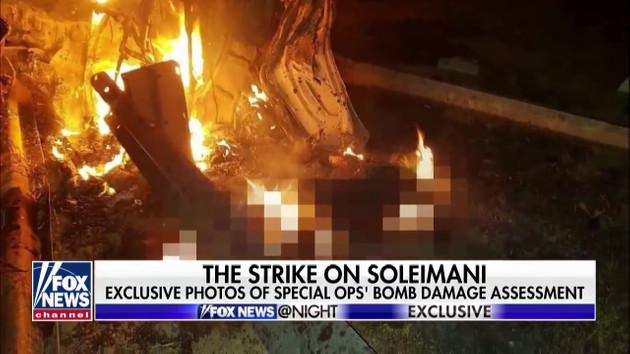 Kasım Süleymani'nin ölüm görüntüleri Fox News'da yayınlandı