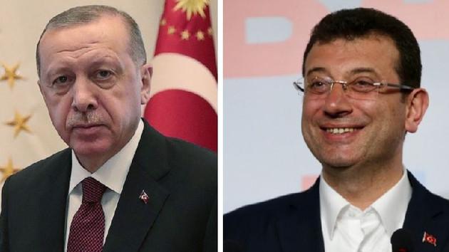 CHP AK Parti'nin, İmamoğlu Erdoğan'ın 10 puan gerisinde
