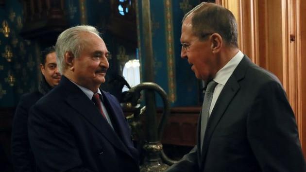 Arap Basını: Hafter ateşkes anlaşmasını imzalamadan Moskova'dan ayrıldı