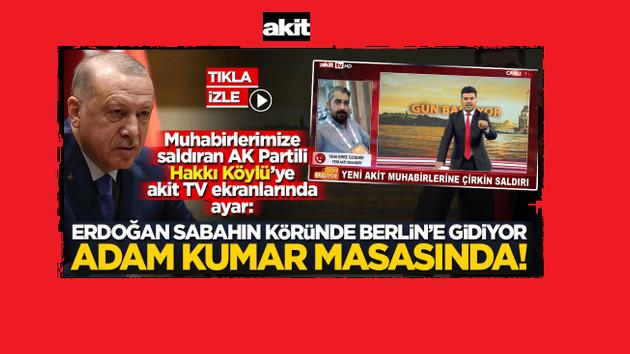 Akit yöneticisinden AKP'li vekile yalancı tepkisi