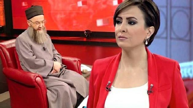 Cübbeli Ahmet ilk defa bir kadının programına katıldı