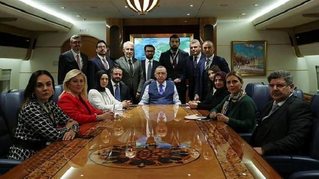 Erdoğan Berlin dönüşü konuştu: Hafter'in hiçbir metne imza atmaması manidardır