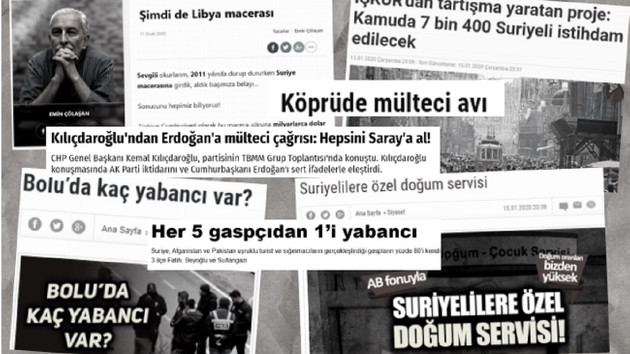 Medya ve siyasiler yalan haberlerle mültecileri hedef gösteriyor