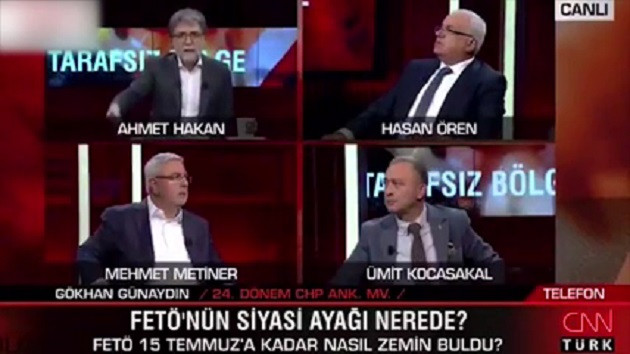 Ahmet Hakan CHP'li eski vekili yayından aldı: Bağlamayın bu adamı, hak etmiyor