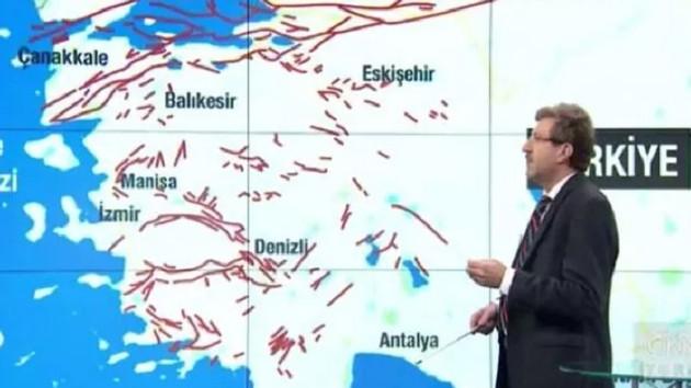 Canlı yayında korkutan açıklama: Her an büyük bir deprem olabilir