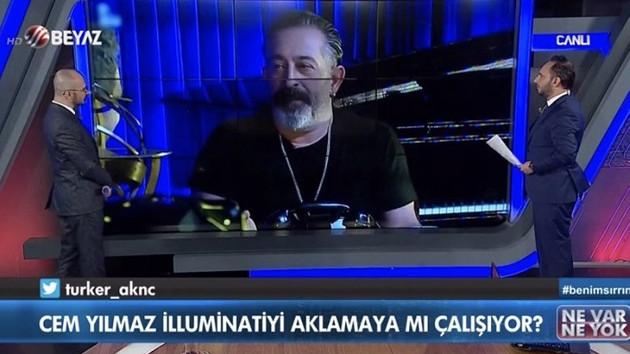 Cem Yılmaz'dan Beyaz TV'ye illuminati tepkisi