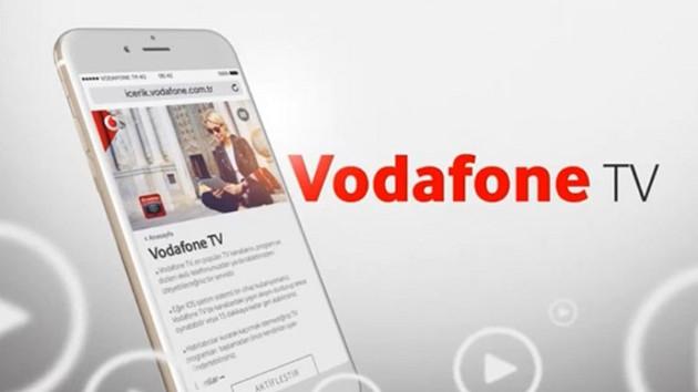 Dijital dizi dünyasına Vodafone TV de katıldı